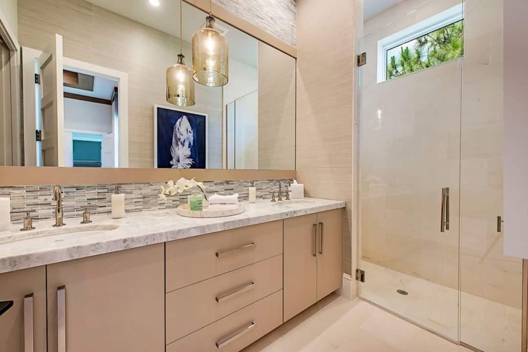 Attractive Bathroom Interior Set Up - Source: Marc-Michaels Interior Design