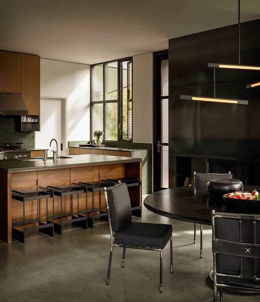 Mind-Blowing Kitchen Interior Set Up - Source: Olson Kundig