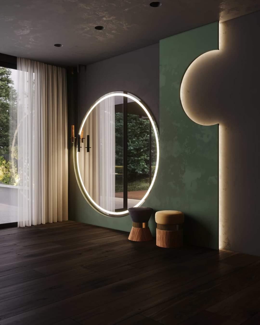 Spacious Living Room Set Up - Source: Kireevaaanna