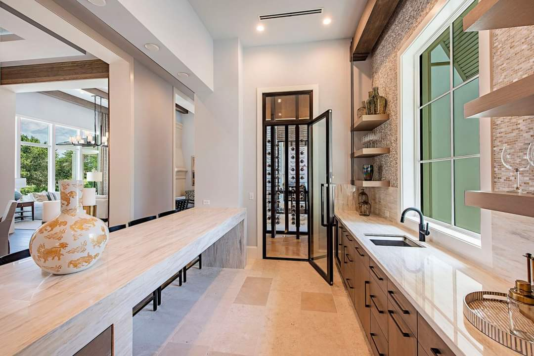 Spacious Kitchen Set Up - Source: Marc-Michaels Interior Design