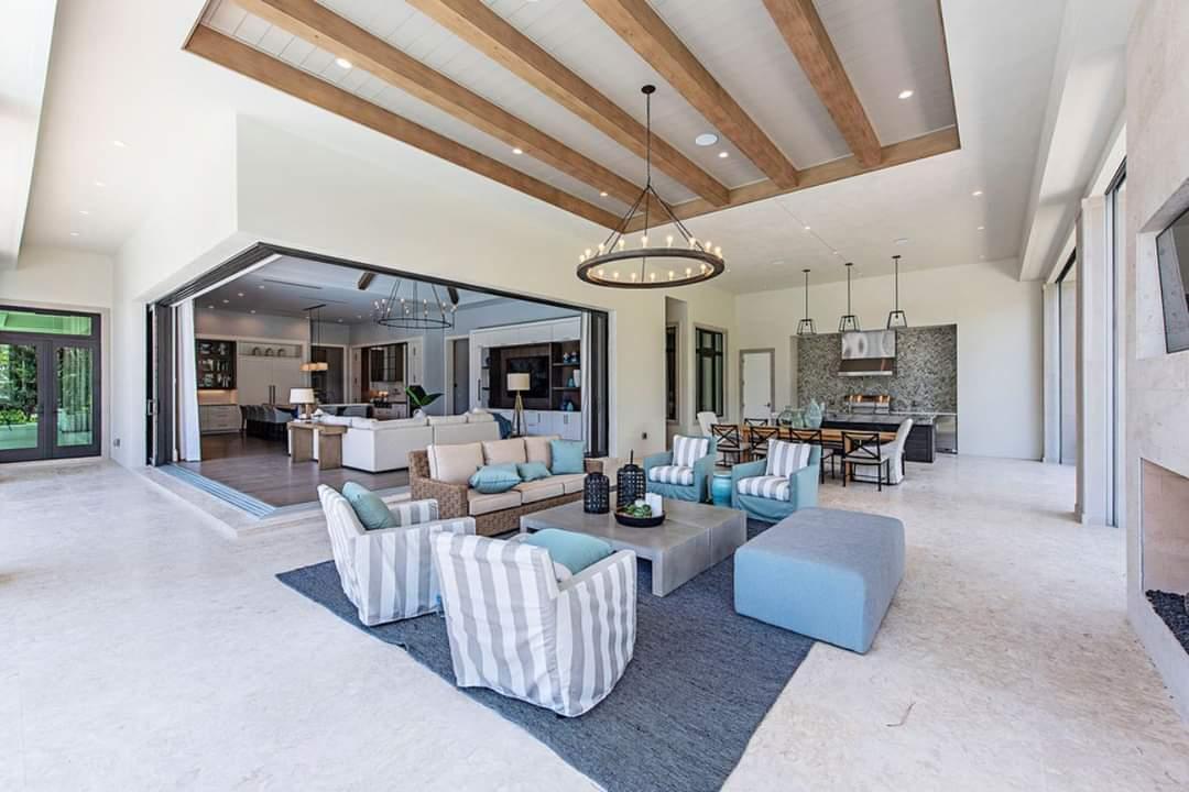 Spacious living room - Source: Marc-Michaels Interior Design