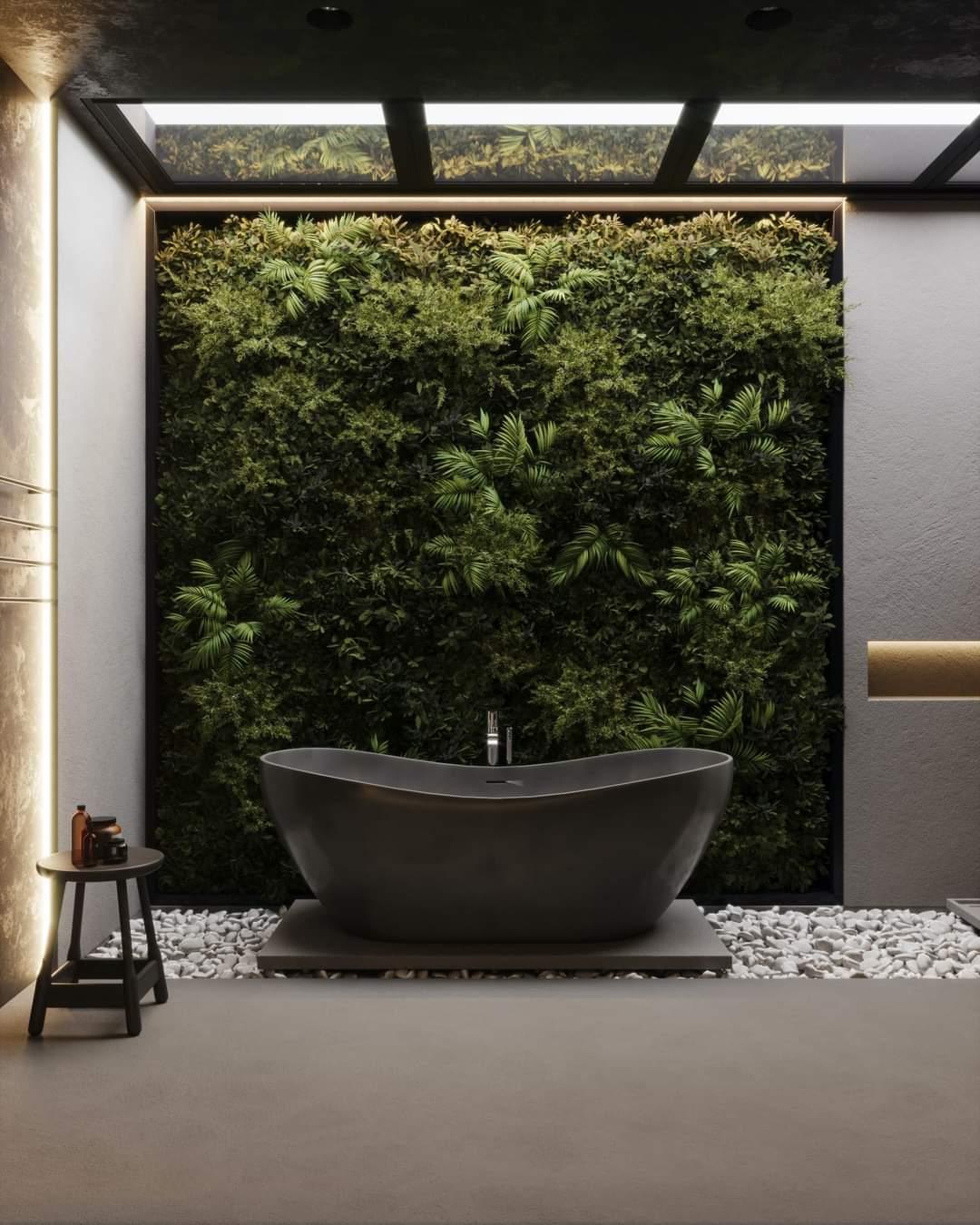 Modern Bath Tub Set Up - Source: Kireevaaanna