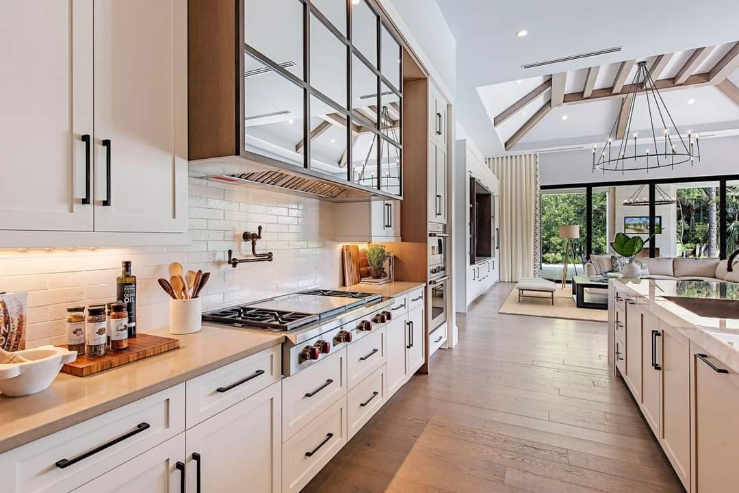 Alluring Kitchen Set Up - Source: Marc-Michaels Interior Design