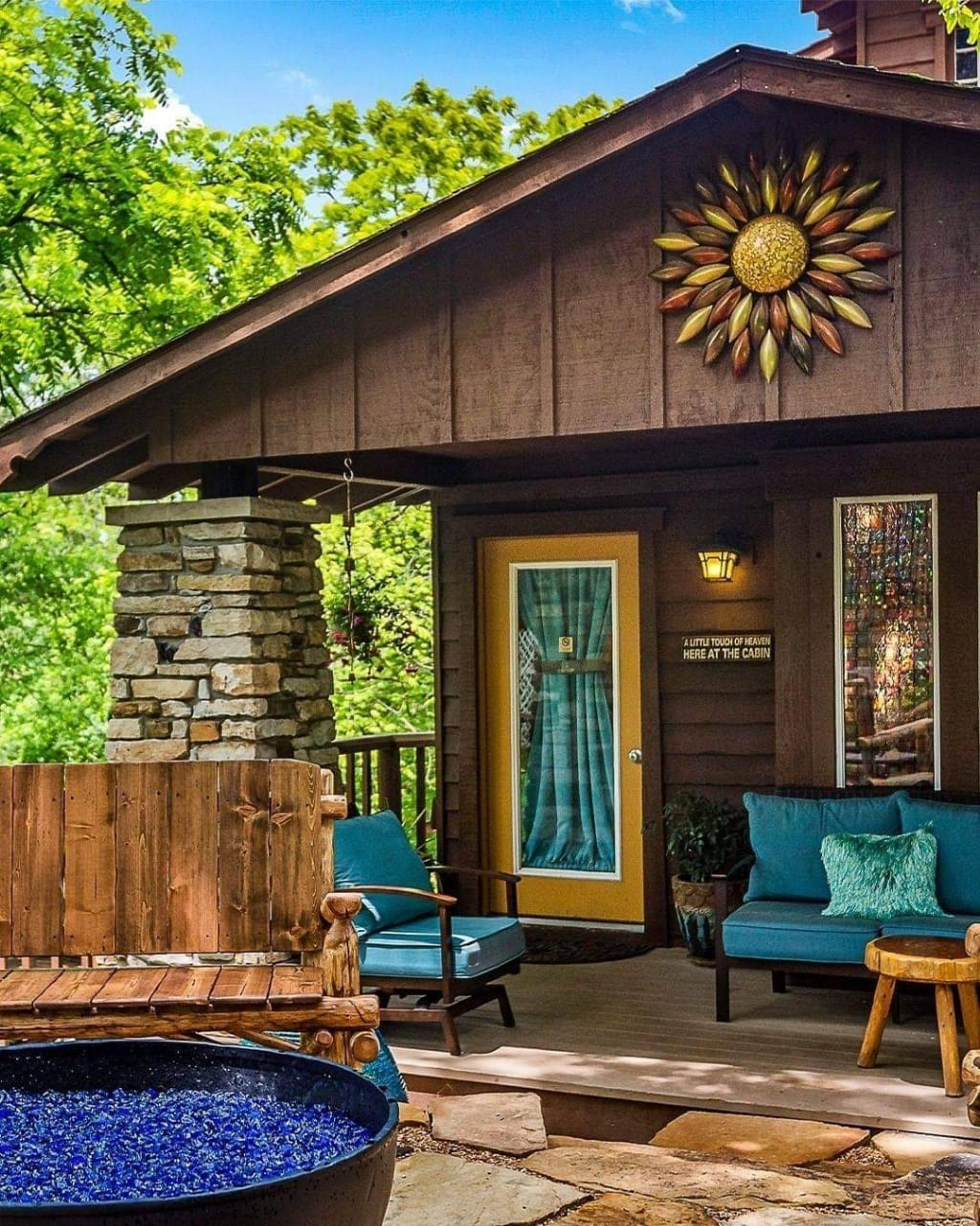 Attractive Exterior Design - Source: The Woods Cabins
