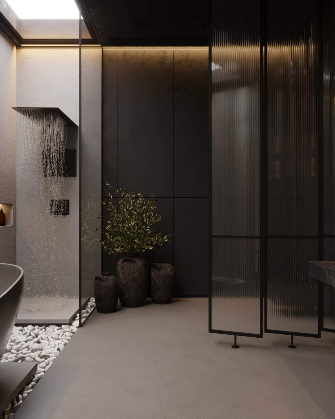 Alluring Bathroom Set Up - Source: Kireevaaanna