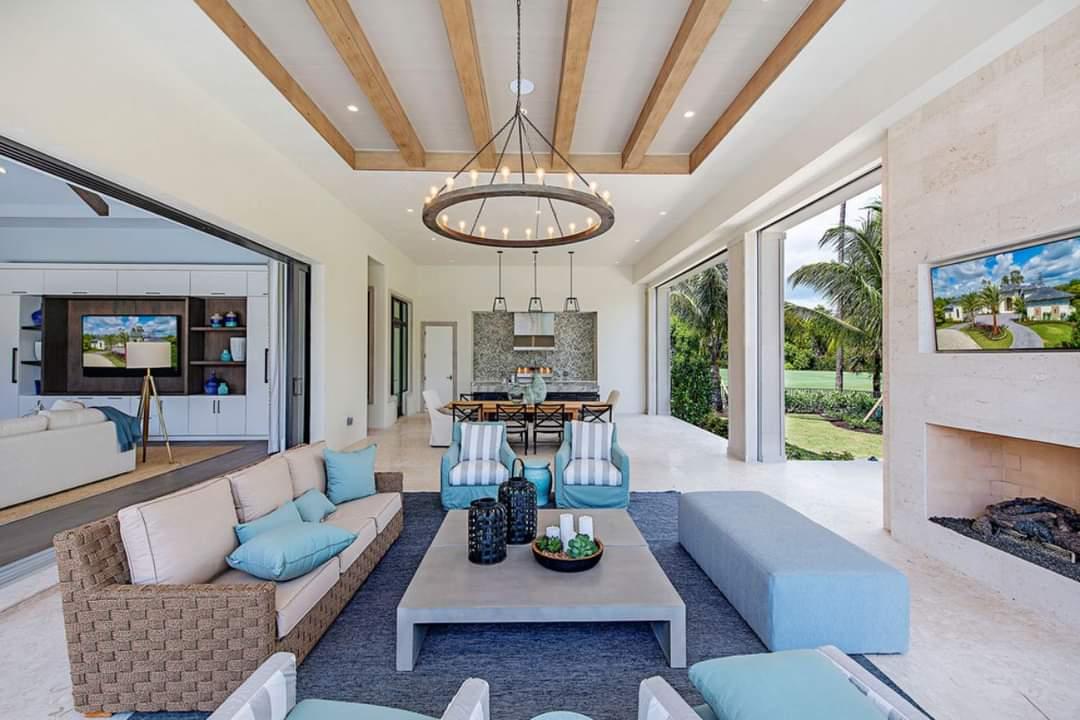 Perfect Sitting Space Interior Design - Source: Marc-Michaels Interior Design