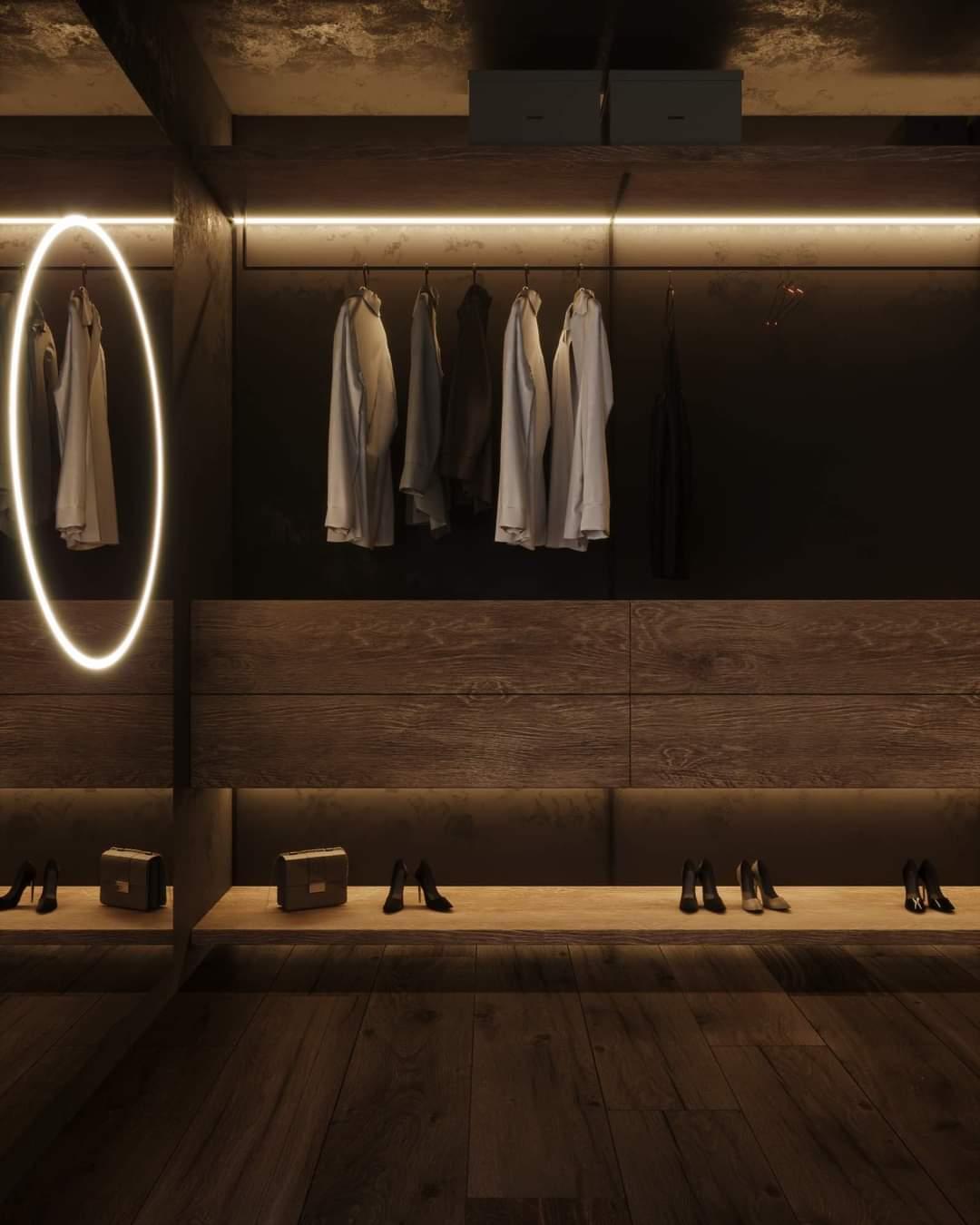 Beautiful Closet Set Up - Source: Kireevaaanna
