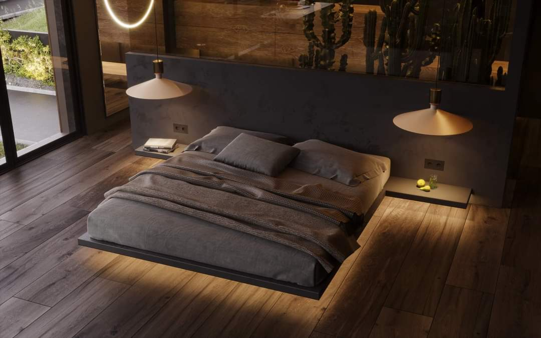 Comfortable Bedroom Set Up - Source: Kireevaaanna