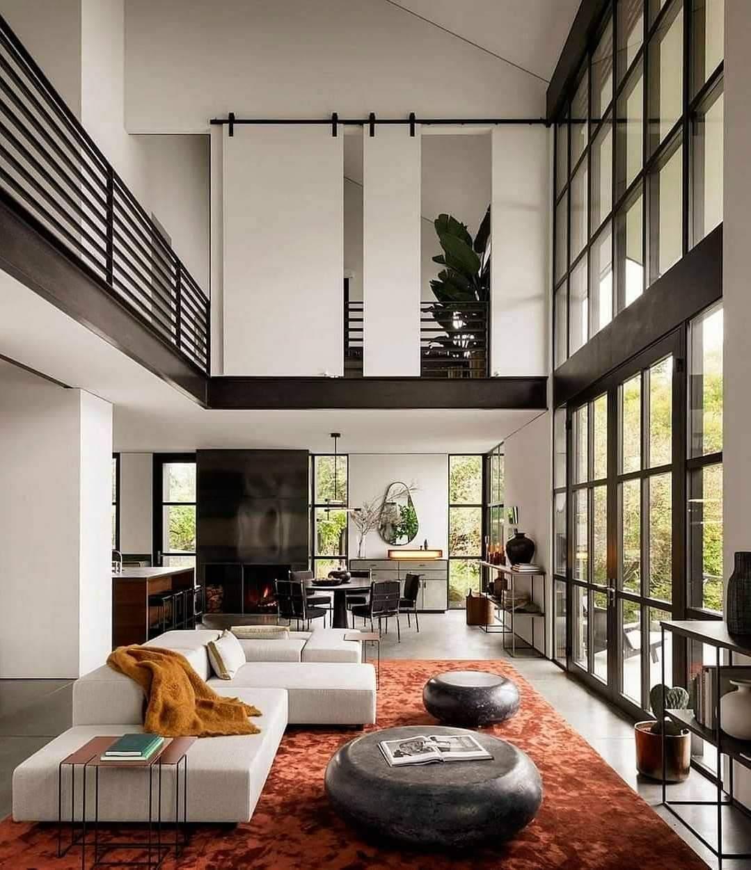 Spacious Living Room Set Up - Source: Olson Kundig