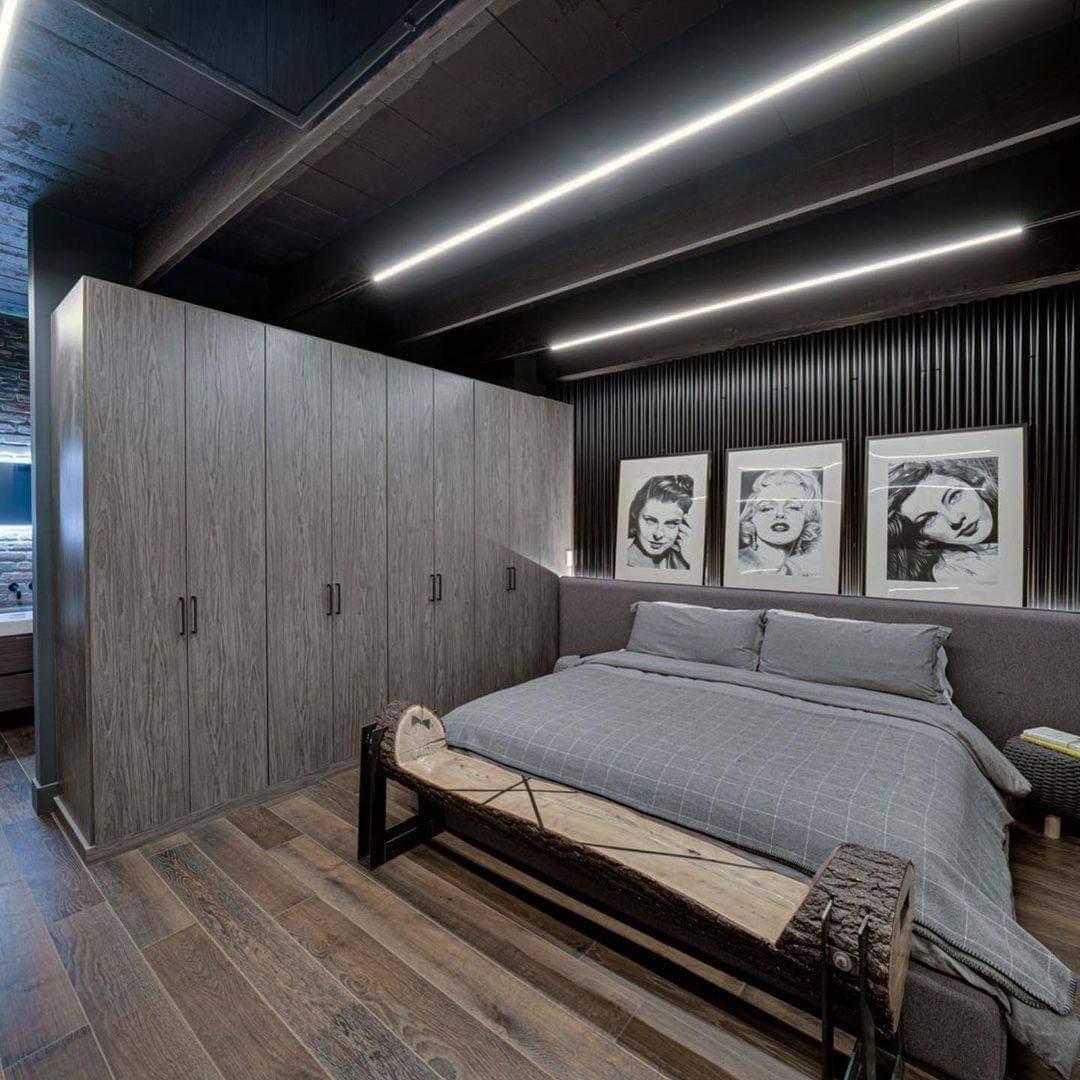 Comfortable Bedroom Set Up - Source: damonsnider